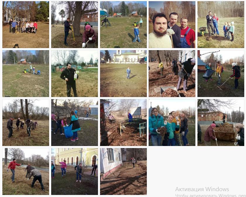 Богородская молодежь вместе со старшими представителями приходов Богородского края приняли участие в акции по уборке территории оздоровительного лагеря, который принимает детей из малоимущих семей Богородского округа