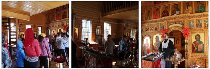 1 мая на Светлой седмице воспитанники воскресной школы храма иконы Божией Матери «Неупиваемая Чаша» Ивантеевского благочиния вместе с преподавателями и родителями совершили экскурсию вдоль реки Клязьма