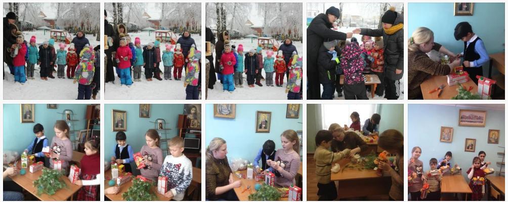 С 20 по 31 января в Озёрском благочинии проходила акция Покормим птиц на базе дошкольных, общеобразовательных учреждений